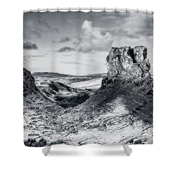 Peak Of Imagination Shower Curtain