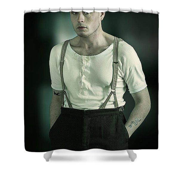 Peaky Blinder Shower Curtain