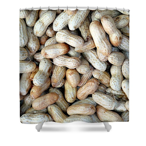 Peanuts On Sale At Fruit Market Shower Curtain