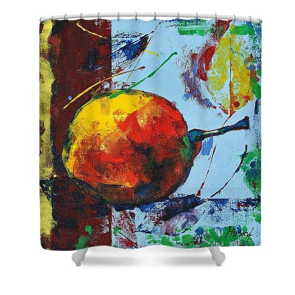Pear And Sun Shower Curtain