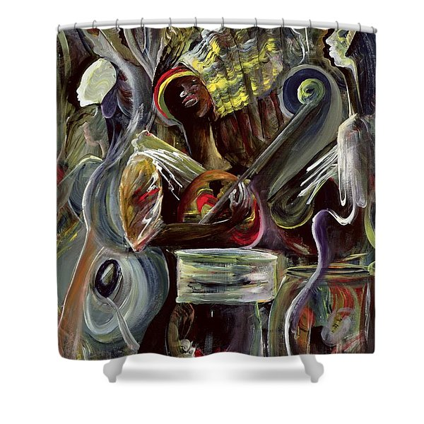 Pearl Jam Shower Curtain