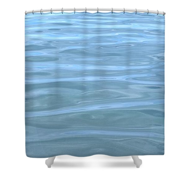 Pearlescent Tranquility Shower Curtain