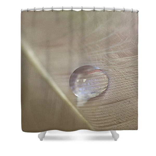 Pearlescent Shower Curtain