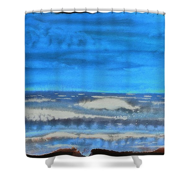 Peau De Mer Shower Curtain