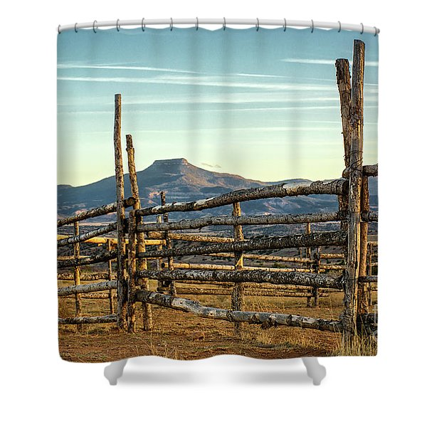 Pedernal Shower Curtain