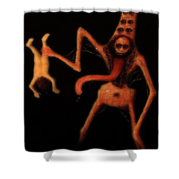Violator Of Innocence - Artwork Shower Curtain