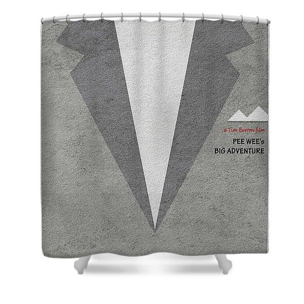 Pee-wee's Big Adventure Shower Curtain