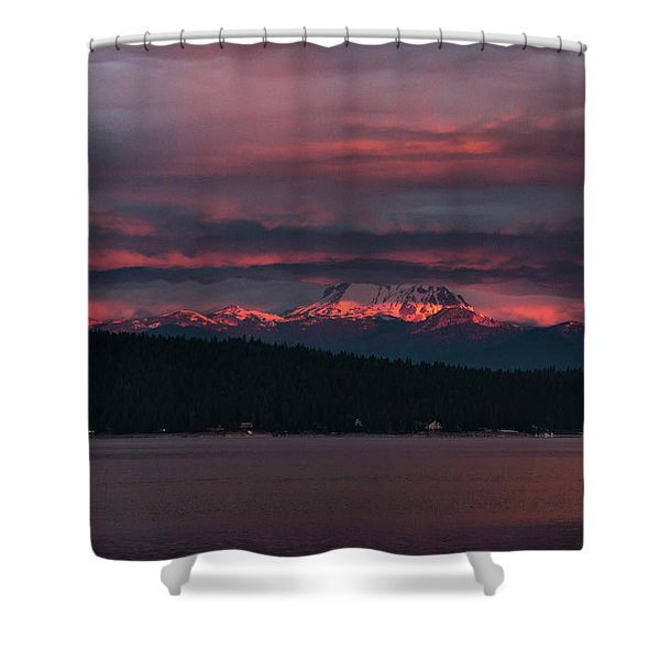Peekaboo Sunrise Shower Curtain