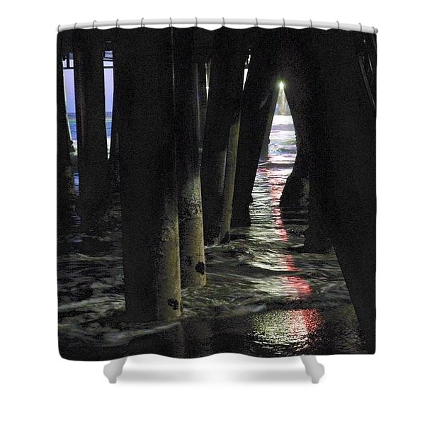 Peeking Shower Curtain