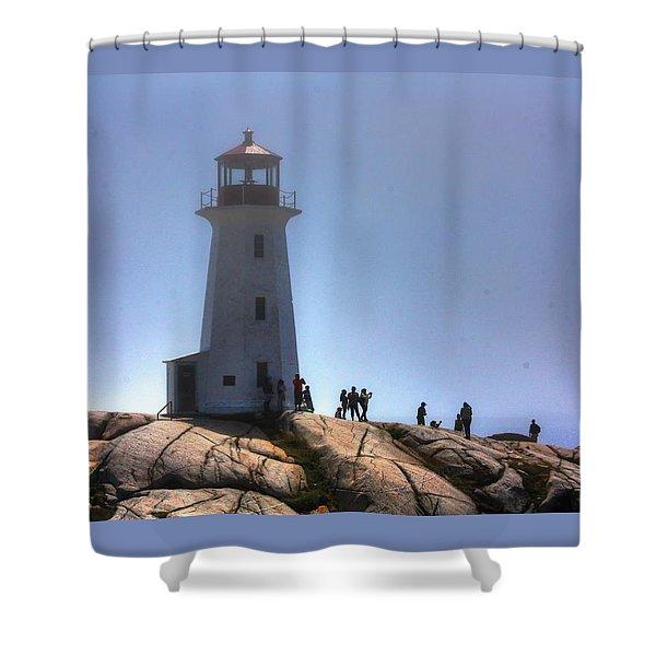 Peggys Light Shower Curtain