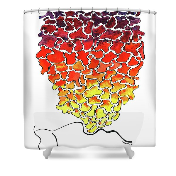 Pele Dreams Shower Curtain