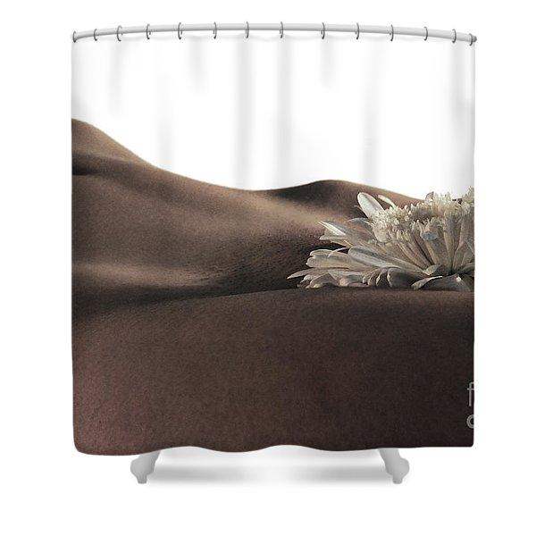 Pelvis Petals Shower Curtain