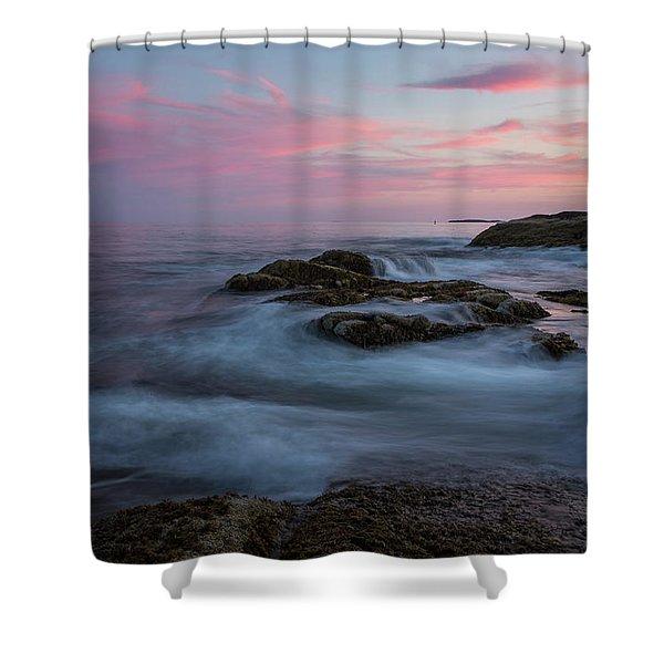 Pemaquid Serenity Shower Curtain