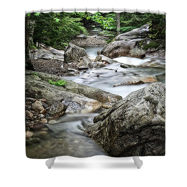 Pemigewasset River Nh Shower Curtain