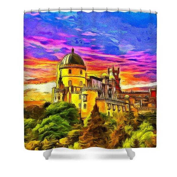 Pena National Palace - Da Shower Curtain