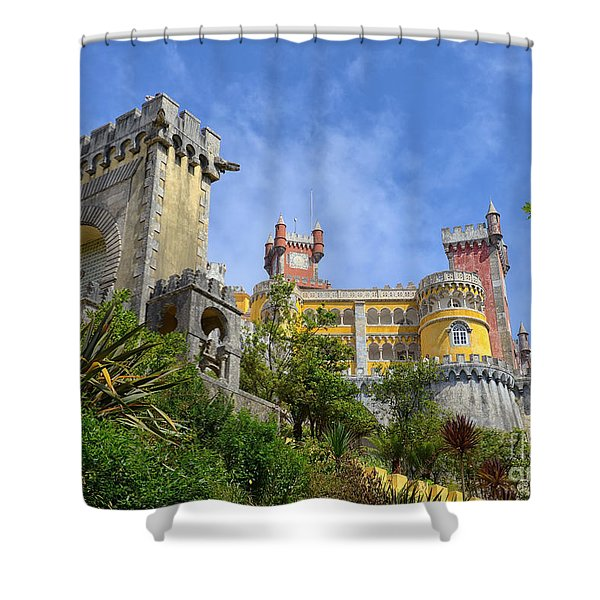 Pena National Palace, Portugal Shower Curtain