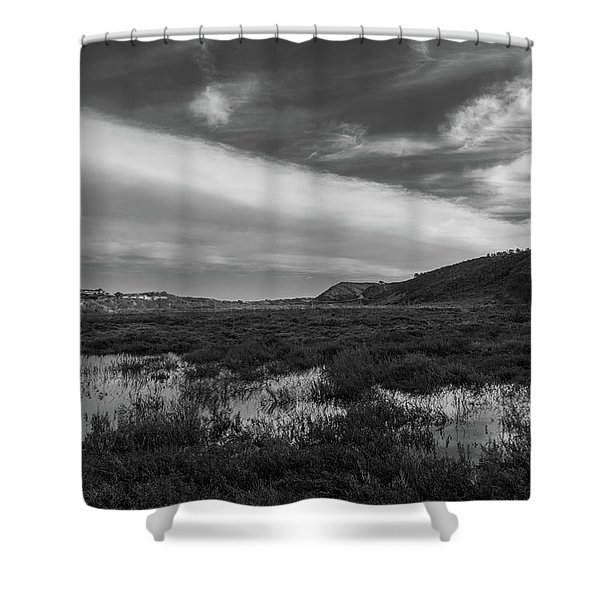 Penasquitos Creek Marsh Shower Curtain