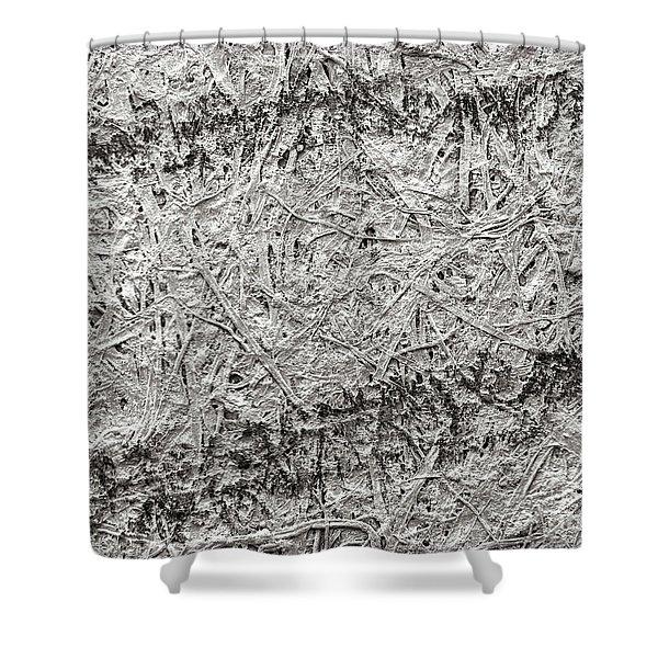 Pencil Lines On Bond Paper Shower Curtain