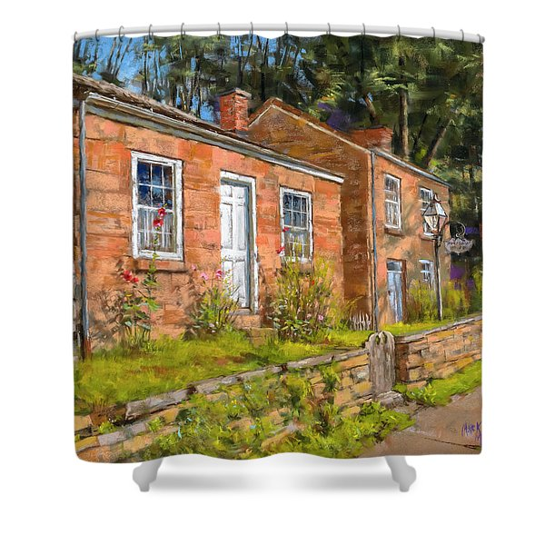 Pendarvis House Shower Curtain