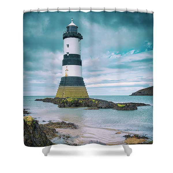 Penmon Point Shower Curtain