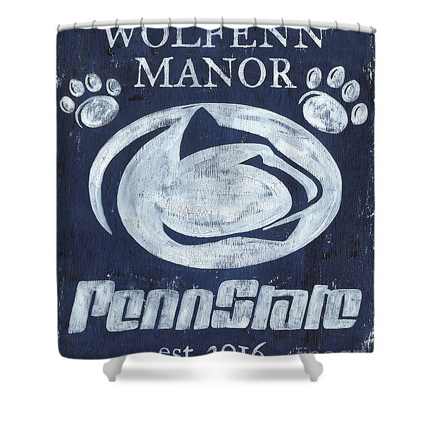 Penn State Personalized Shower Curtain