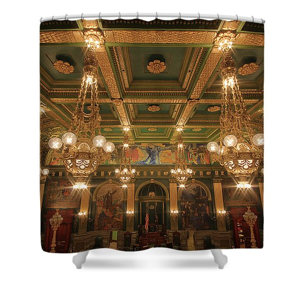 Pennsylvania Senate Chamber Shower Curtain