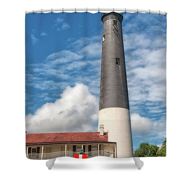 Pensacola Lighthouse Shower Curtain