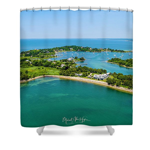 Penzance Point Shower Curtain