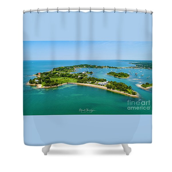 Penzance Point Shower Curtain