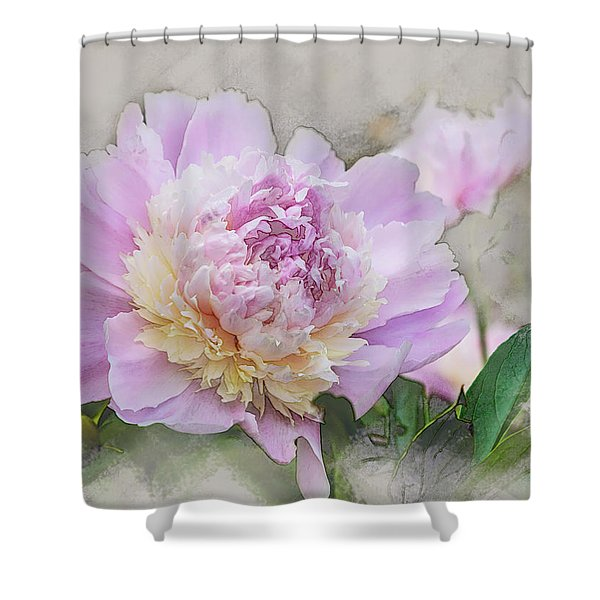 Peony 2 Shower Curtain