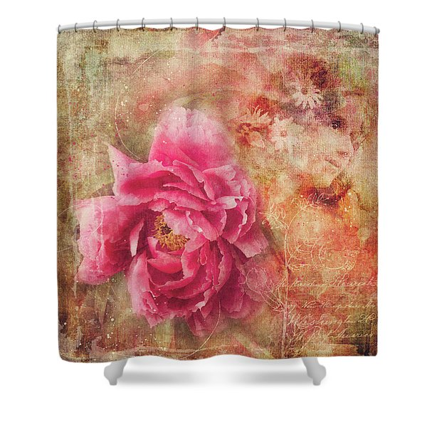 Peony Dreams Shower Curtain