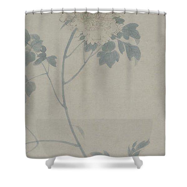 Peony, Hanging Scroll, 1532 Shower Curtain