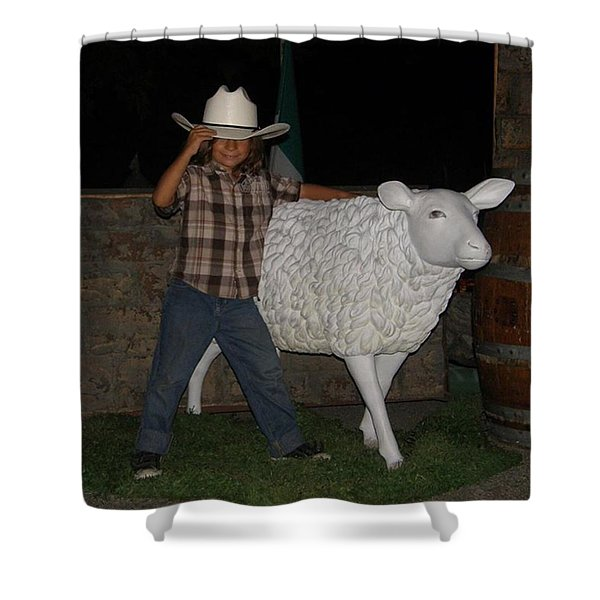 People Ride These  Shower Curtain