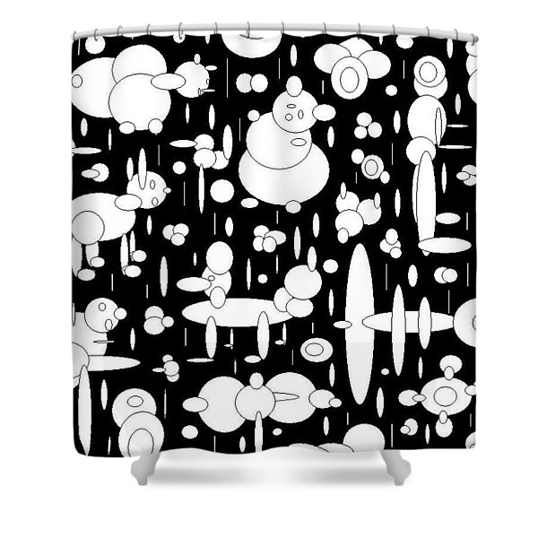 Peoples Shower Curtain