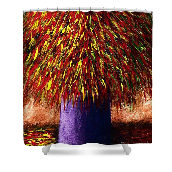 Peppered  Shower Curtain