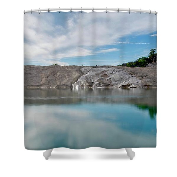 Perdernales Falls II Shower Curtain