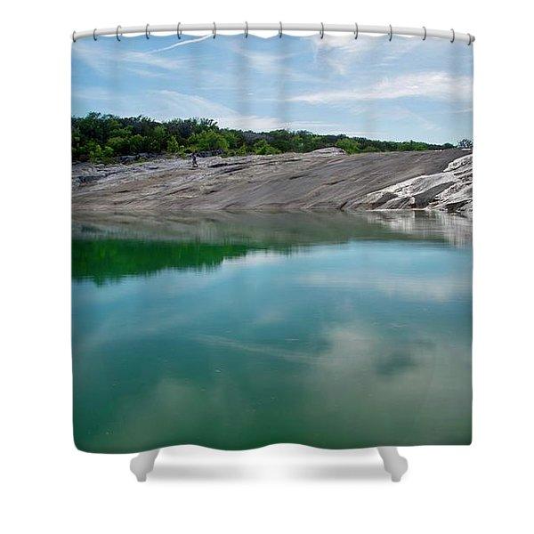 Perdernales Falls IIi Shower Curtain