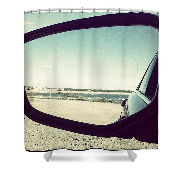 Drive By The Sea Shower Curtain