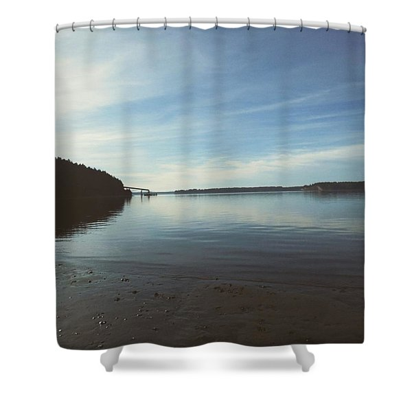 Solo Point Shower Curtain