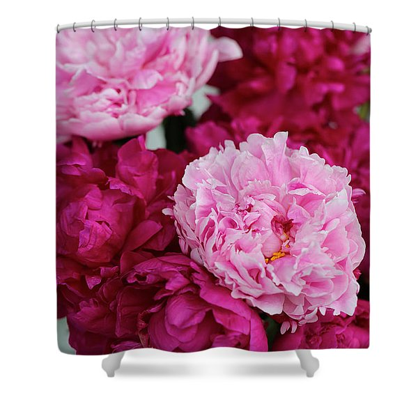 Perfect Peonies Shower Curtain