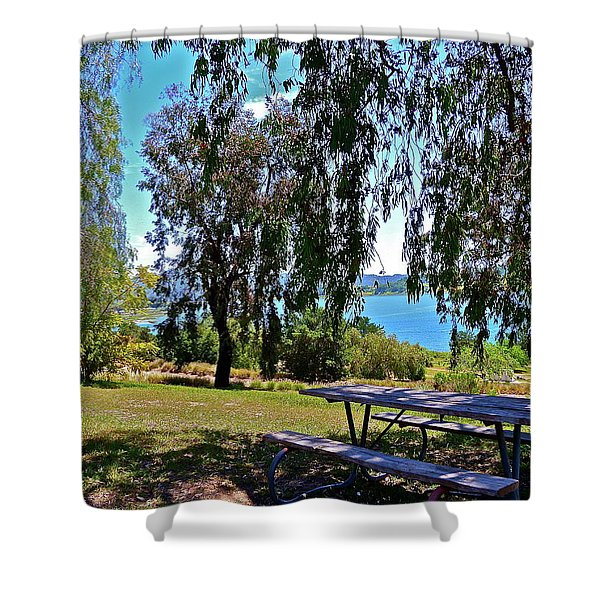 Perfect Picnic Place Shower Curtain