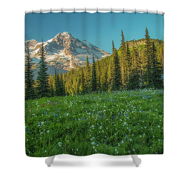 Perfect Setting Shower Curtain