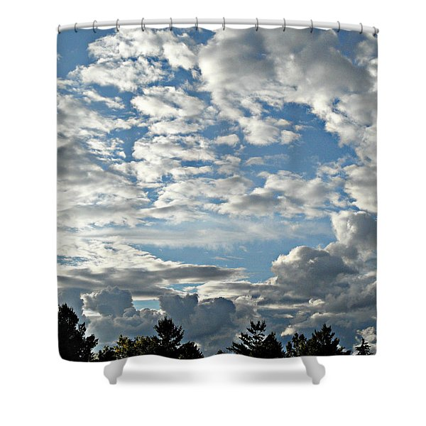 Perfect Times Shower Curtain