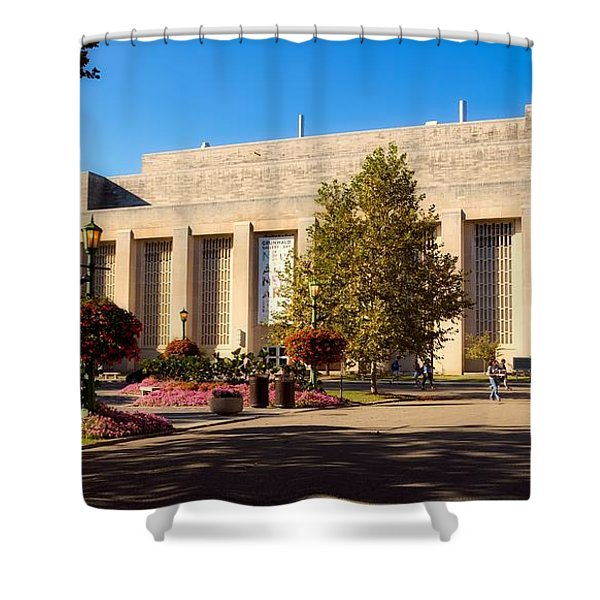 Performance Arts Center - Indiana University Shower Curtain