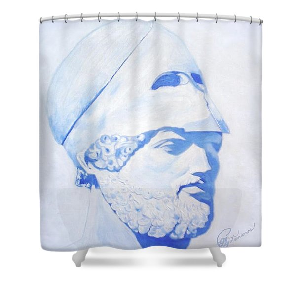 Pericles Shower Curtain