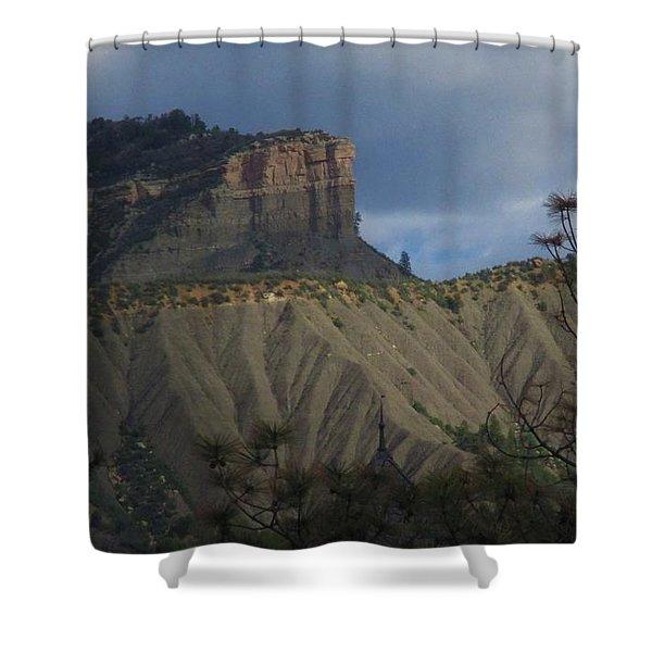Perin's Peak Durango Shower Curtain