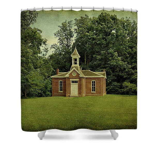 Perry Township School No. 3 Shower Curtain
