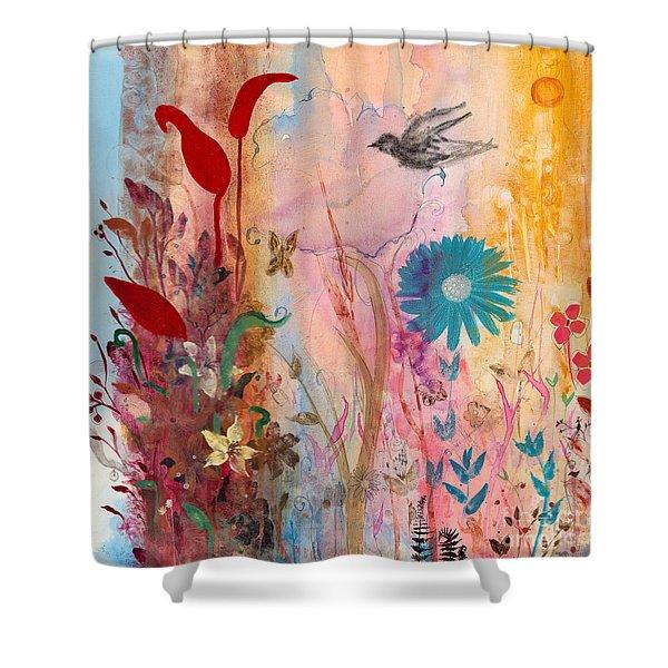 Persephone's Splendor Shower Curtain