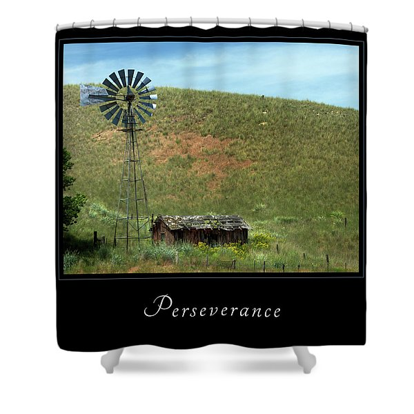 Shower Curtain featuring the photograph Perserverance 2 by Mary Jo Allen