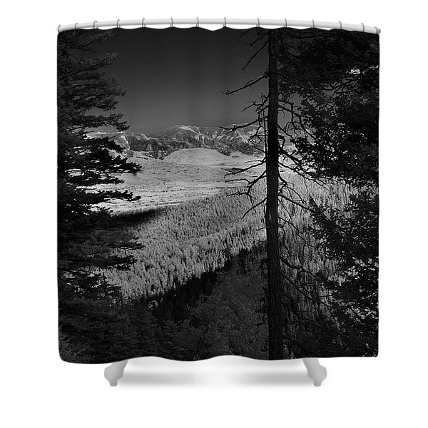 Perspective Range Shower Curtain